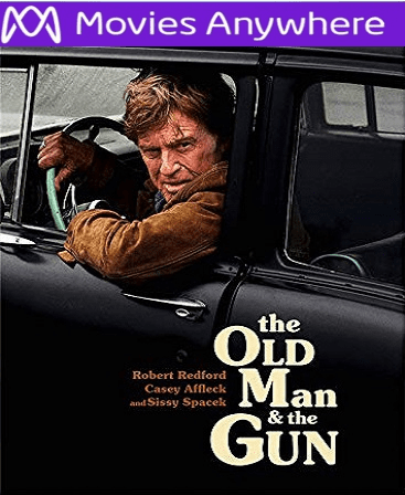 Old Man And The Gun  HD UV or iTunes Code via MA