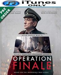 Operation Finale HD iTunes Code (PRE-ORDER WILL EMAIL ON OR BEFORE 12-4-18)