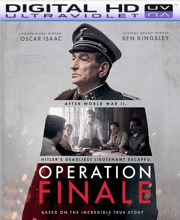 Operation Finale HD Vudu Code (Insta Watch)