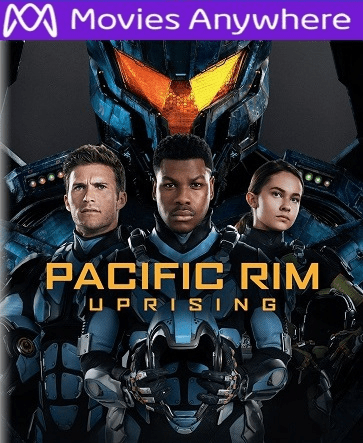 Pacific Rim Uprising HD UV or iTunes Code Via MA
