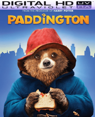 Paddington HD Digital Ultraviolet UV Code