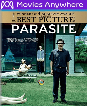 Parasite HD Vudu Ports To Movies Anywhere & iTunes (Insta Watch)