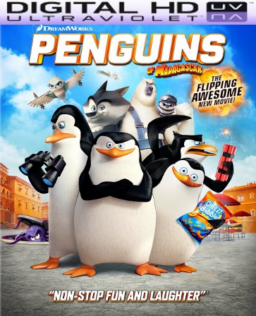 Penguins of Madagascar HD Digital Ultraviolet UV Code