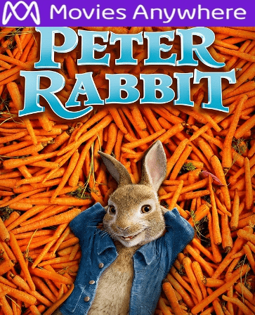 Peter Rabbit HD UV or iTunes Code