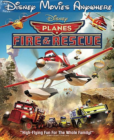 Planes Fire and Rescue DMA Disney Movies Anywhere Code (Will Port To Linked Services)