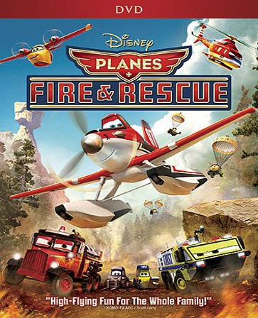 Planes Fire & Rescue DVD (USED)