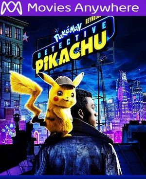 Pokemon Detective Pikachu HD Vudu or iTunes Code via MA