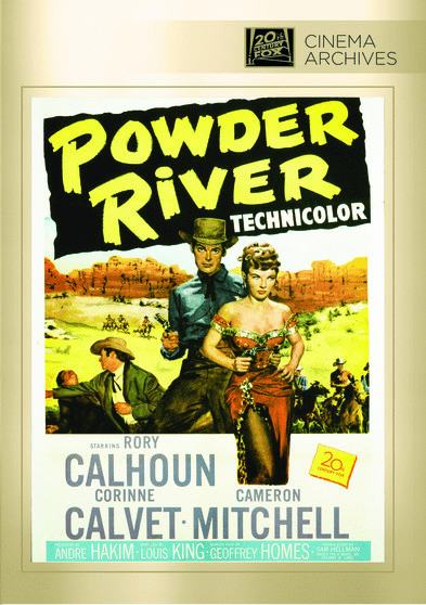 Powder River DVD Movie
