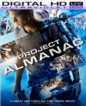 Project Almanac HD Digital Ultraviolet UV Code