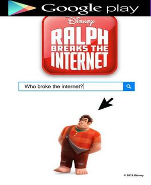 Ralph Breaks The Internet HD Code GOOGLE PLAY ONLY