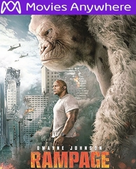 Rampage HD UV or iTunes Code via MA