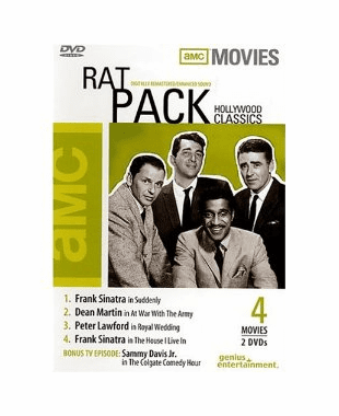 Rat Pack Hollywood Classics AMC DVD Movies