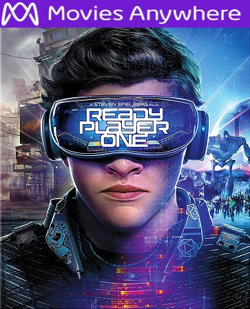 Ready Player One HD UV or iTunes Code via MA