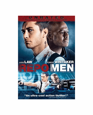 Repo Men DVD Movie Unrated (USED)