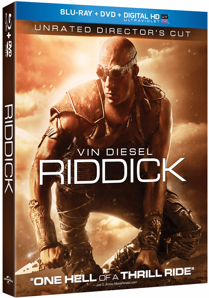 Riddick: Unrated Director's Cut (Blu-ray + DVD + UltraViolet)