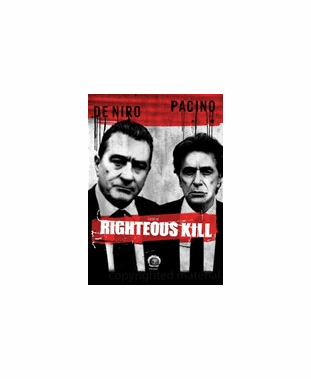 Righteous Kill DVD Movie (USED)
