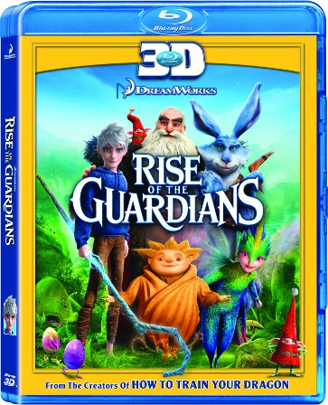 Rise Of The Guardians 3D (Blu-ray  Only Used)