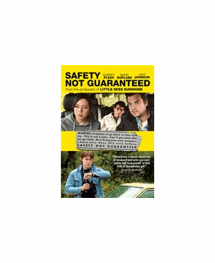 Safety Not Guaranteed DVD Movie