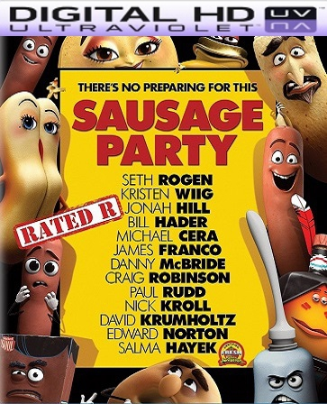 Sausage Party HD Digital Ultraviolet UV Code