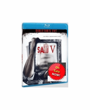 Saw V Unrated Director's Cut Blu-ray Movie