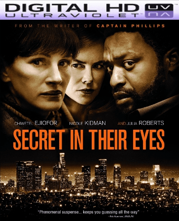 Secret in Their Eyes HD Digital Ultraviolet UV Code