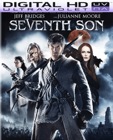 Seventh Son HD Digital Ultraviolet UV Code