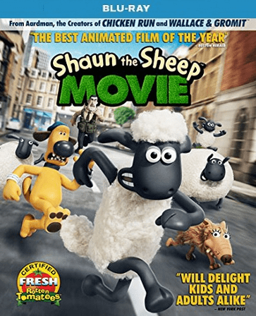 Shaun the Sheep Movie Blu-ray Single Disc (USED)