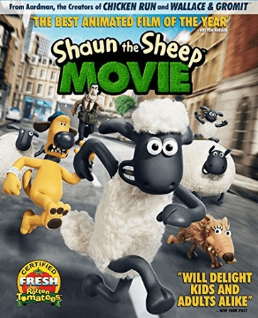 Shaun The Sheep Movie DVD