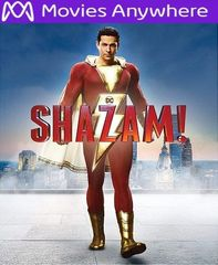 Shazam! HD Vudu or iTunes Code via MA