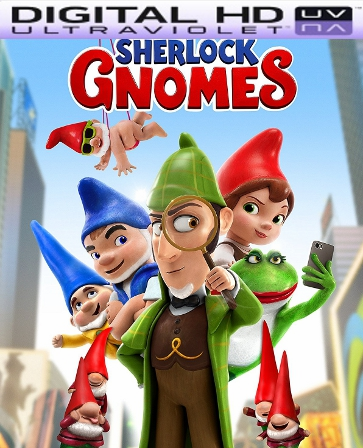 Sherlock Gnomes HD UV Ultraviolet Code