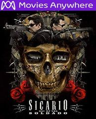 Sicario: Day Of The Soldado HD UV or iTunes Code via MA