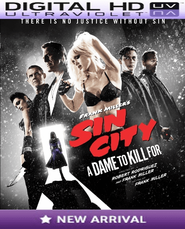 Sin City 2 A Dame to Kill For HD Digital Ultraviolet UV Code