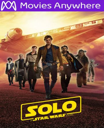 Solo: A Star Wars Story UV iTunes Code, Buy Solo: A Star Wars Story