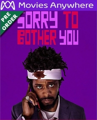 Sorry To Bother You HD UV or iTunes Code via MA (PRE-ORDER WILL EMAIL ON OR BEFORE BLU-RAY RELEASE DATE)
