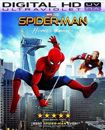 Spider-Man: Homecoming HD Ultraviolet UV Code
