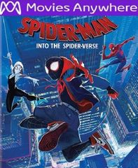 Spider-Man: Into the Spider-Verse HD UV or iTunes Code via MA