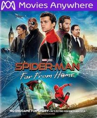 Spiderman Far from Home HD Vudu or iTunes Code via MA