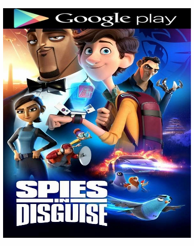 Spies in Disguise HD Google Play (Ports to MA/Vudu/iTunes)