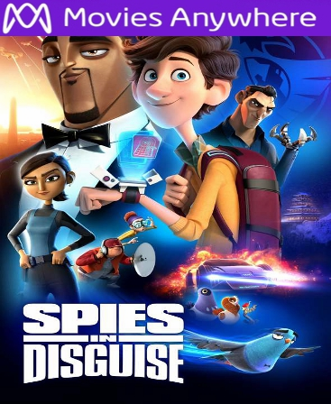 Spies in Disguise HD Vudu or iTunes Code via MA