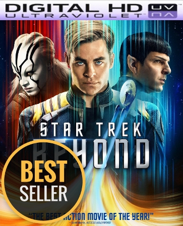 Star Trek Beyond HD Digital Ultraviolet UV Code