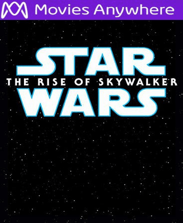 Star Wars: The Rise of Skywalker HD Vudu or iTunes Code via MA