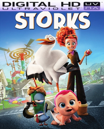 Storks HD Digital Ultraviolet UV Code