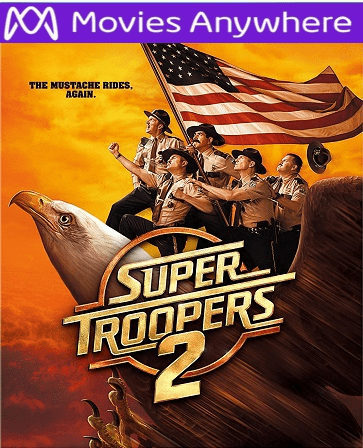 Super Troopers 2 HD UV or iTunes Code via MA