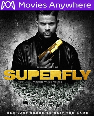 Superfly HD UV or iTunes Code via MA