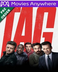 Tag HD UV or iTunes Code via MA (PRE-ORDER WILL EMAIL ON OR BEFORE BLU RAY RELEASE DATE)