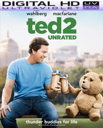 Ted 2 Unrated HD Digital Ultraviolet UV Code