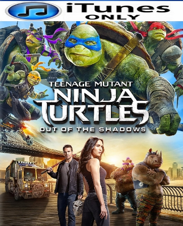 Teenage Mutant Ninja Turtles: Out Of The Shadows HD iTunes Code