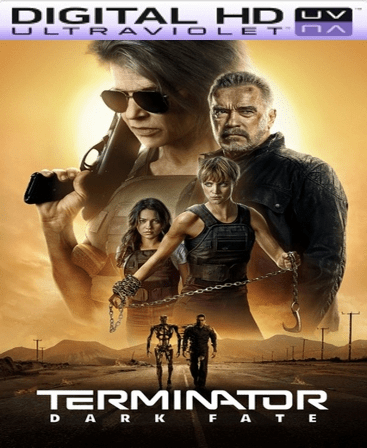 Terminator: Dark Fate HD Vudu Code