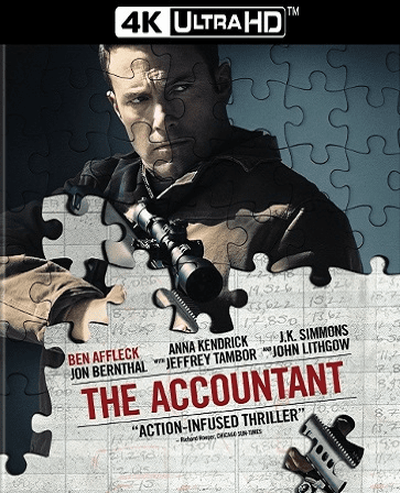 The Accountant 4K UHD Ultraviolet UV Code