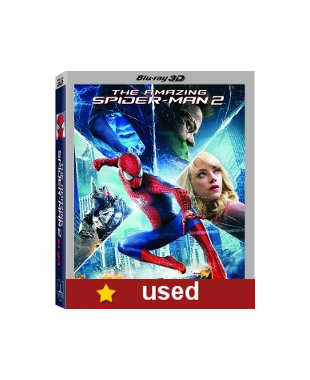 The Amazing Spider Man 2  Blu-ray 3D (USED)